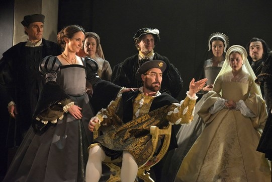 The Royal Shakespeare Company cast of Wolf Hall: Parts 1 & 2, coming to the Winter Garden Theatre.