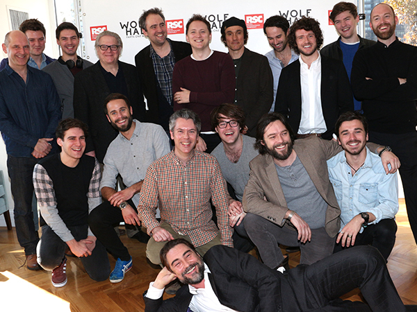 The men of Wolf Hall strike a series of hilarious poses.
