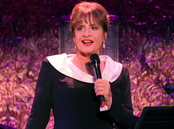 Patti Lupone in concert at 54 Below.