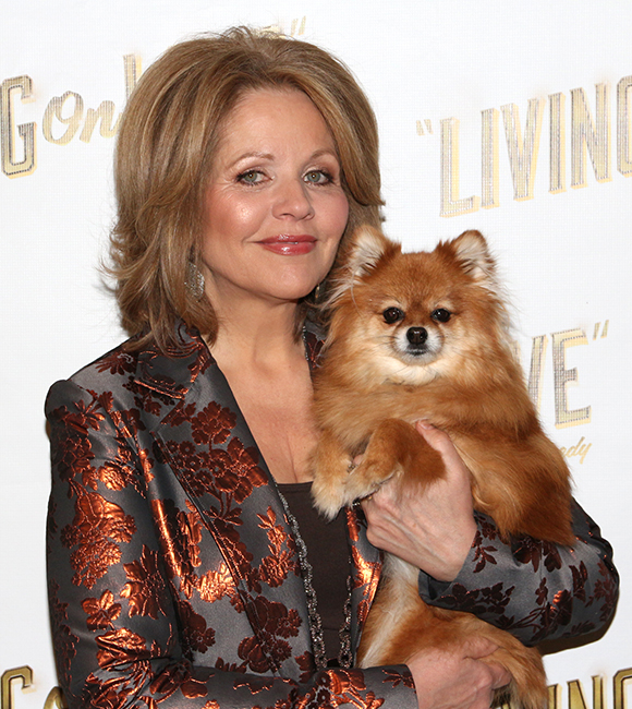 Renowned opera star Renée Fleming leads the cast of Living On Love alongside an adorable pup named Trixie.