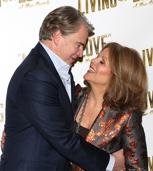 Tony nominee Douglas Sills plays Renée Fleming's onstage husband in the new comedy.