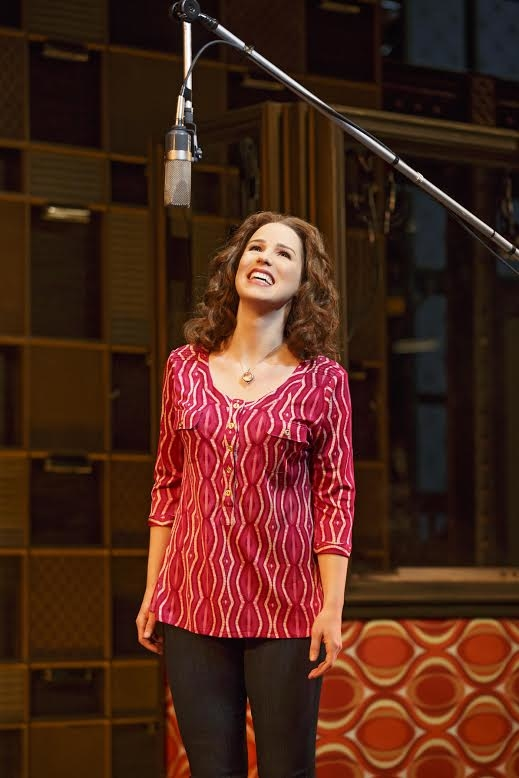 Chilina Kennedy as Carole King in Broadway's Beautiful — The Carole King Musical.