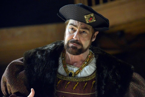 Nathaniel Parker as King Henry VIII in Wolf Hall.
