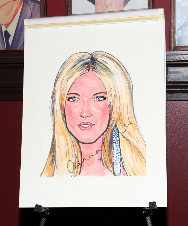 Look for Sienna Miller on the walls of Sardi's Restaurant!