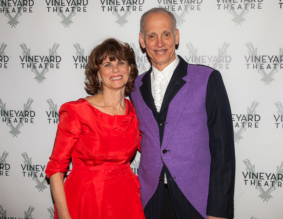 John Waters hosted the evening honoring Margo Lion.