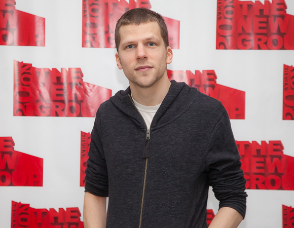 Oscar nominee Jesse Eisenberg is the author and star of his new play, The Spoils.