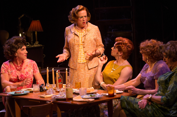 The Broadway cast of Harvey Fierstein's Casa Valentina.
