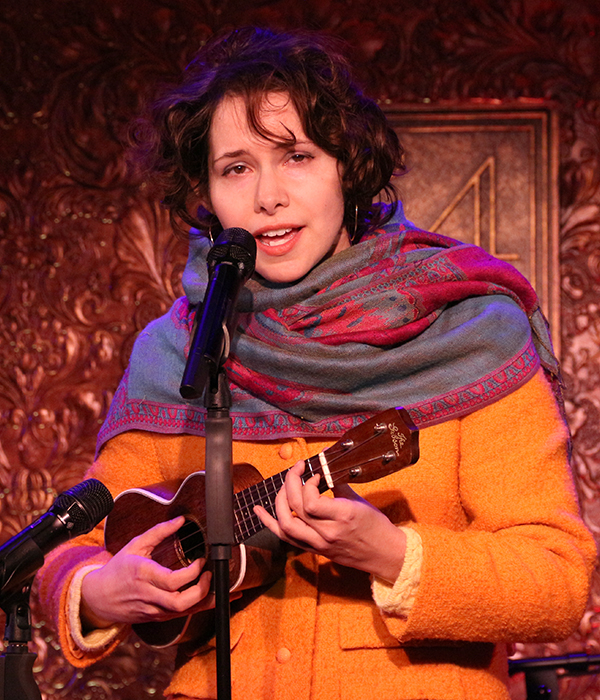"""Nellie McKay performs the Gerry and the Pacemakers hit """"Don't Let the Sun Catch You Crying,"""" an excerpt from her concert, My Weekly Reader."""