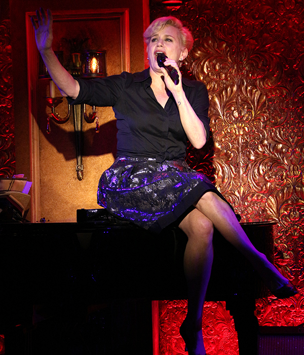 """Tony winner Cady Huffman sings """"No Man Left for Me"""" from the Cy Coleman revue, Our Guy, Cy."""