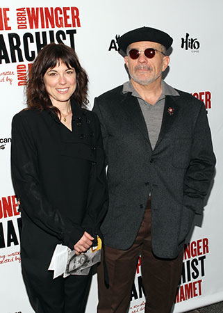 Rebecca Pidgeon stars in her husband, David Mamet's, two-character drama The Anarchist at Theatre Asylum in Hollywood.