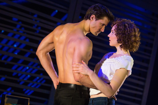 Gillian Abbott As Baby In National Tour Of Dirty Dancing