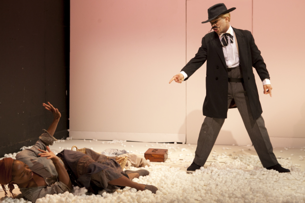 A scene from Branden Jacobs-Jenkins An Octoroon at Soho Rep.