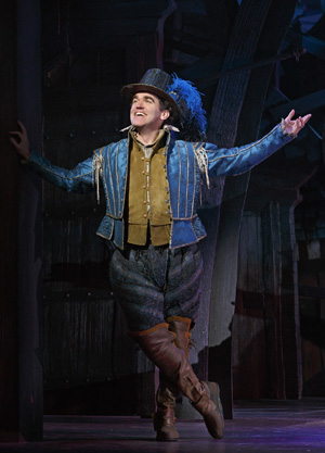 Brian d'Arcy James plays Nick Bottom in Something Rotten!