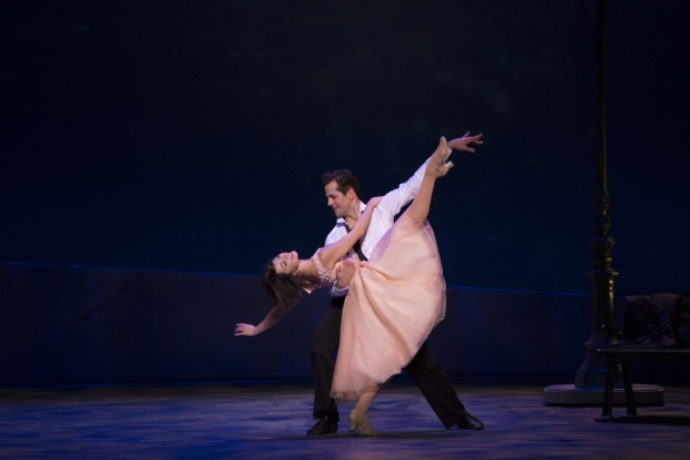 Leanne Cope and Robert Fairchild in the new Broadway musical An American in Paris, nominated for 12 Drama Desk Awards.