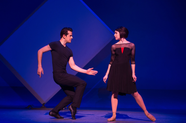 Robert Fairchild and Leanne Cope in An American in Paris at the Palace Theatre.