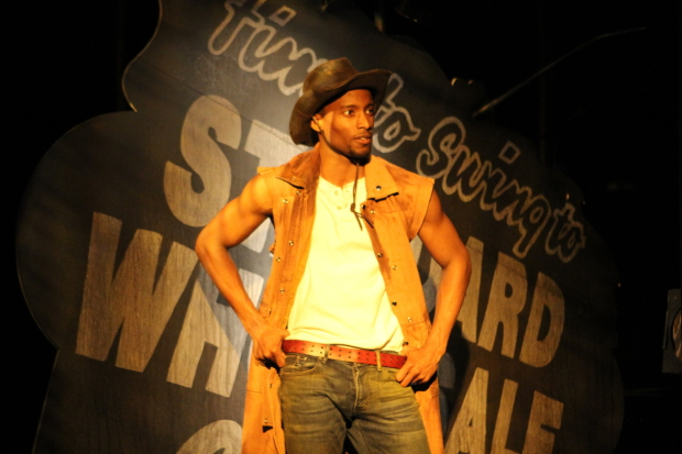 Sheldon Best stars in Qui Nguyen's Six Rounds of Vengeance, directed by Robert Ross Parker, at the New Ohio Theatre.
