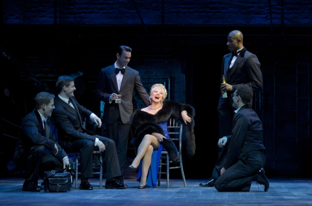 Elaine Paige (center) as Carlotta Campion in the 2010 Broadway revival of Follies.