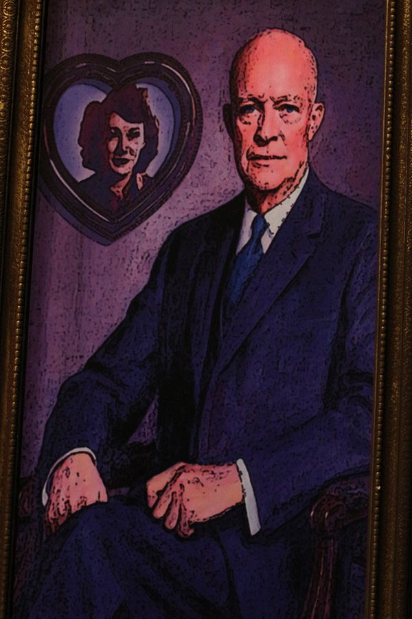 Kay Summersby and Dwight D. Eisenhower.