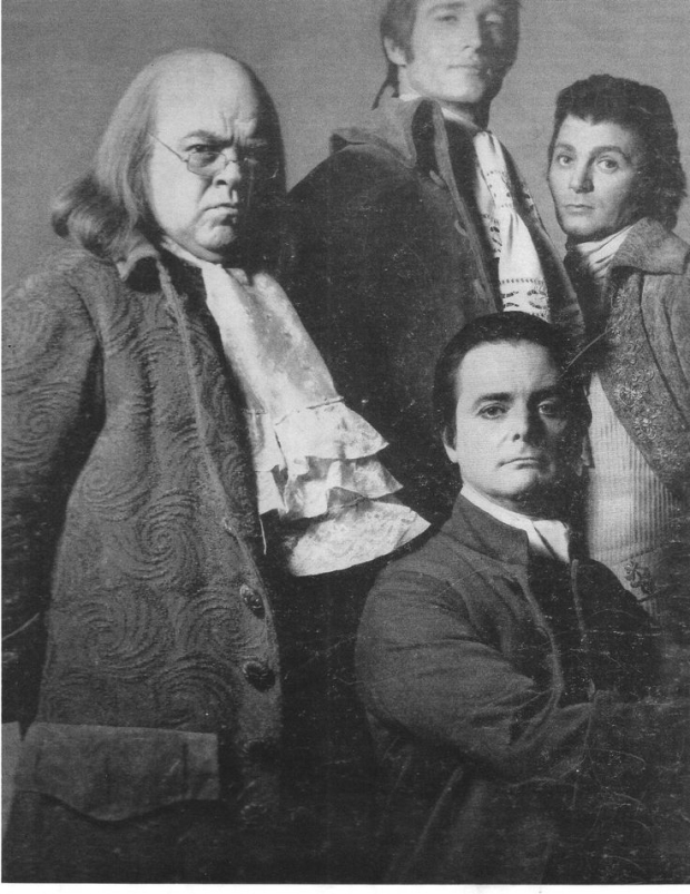... 1776 (l to r): Rex Everhart, Ken Howard, William Daniels, and Clifford