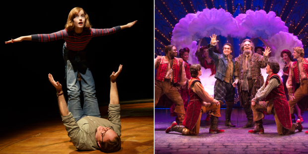 The Tony-nominated productions of Fun Home and Something Rotten! will embark on national tours in 2016.