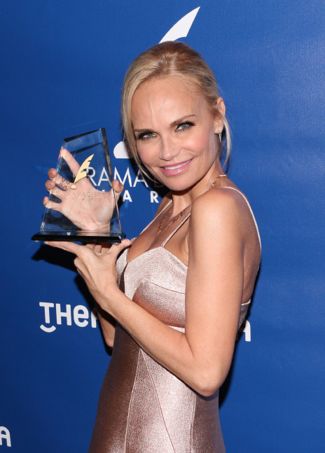 Kristin Chenoweth snagged a Drama Desk for her operatic performance in On the Twentieth Century.