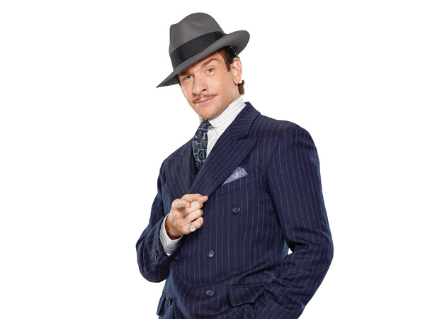 Andy Karl plays Bruce Granit in the Broadway revival of On the Twentieth Century.