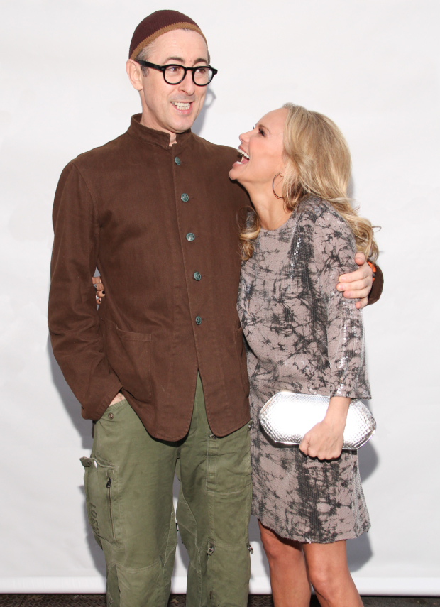 Alan Cumming and Kristen Chenoweth host the 69th Annual Tony Awards.