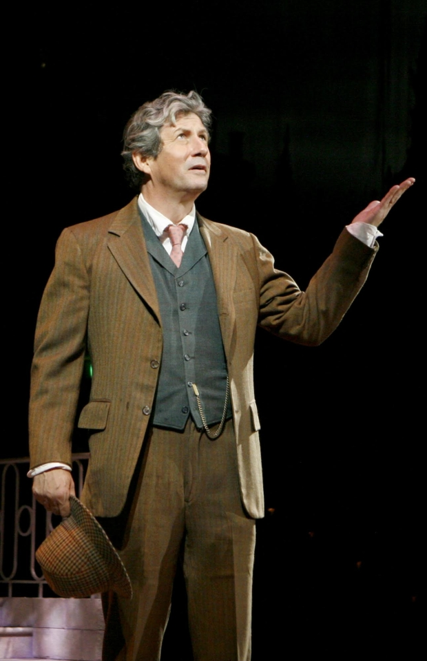 Charles Shaughnessy as Henry Higgins'in North Shore Music Theatre's 2013 production of My Fair Lady.