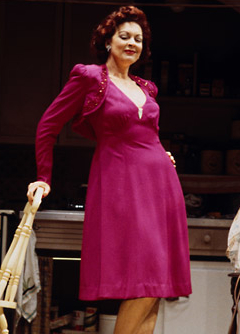 Michele Pawk as Louise in the original Broadway production of Hollywood Arms.