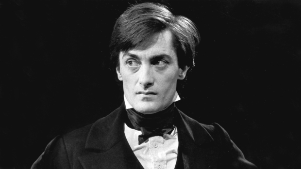Roger rees in his tony and oliver award winning performance as
