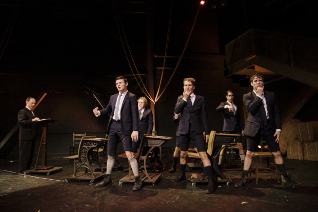 A scene from the Deaf West Theatre production of Spring Awakening at the Wallis Annenberg Center for the Performing Arts.