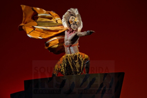 Jelani Remy as Simba in Disney's The Lion King.
