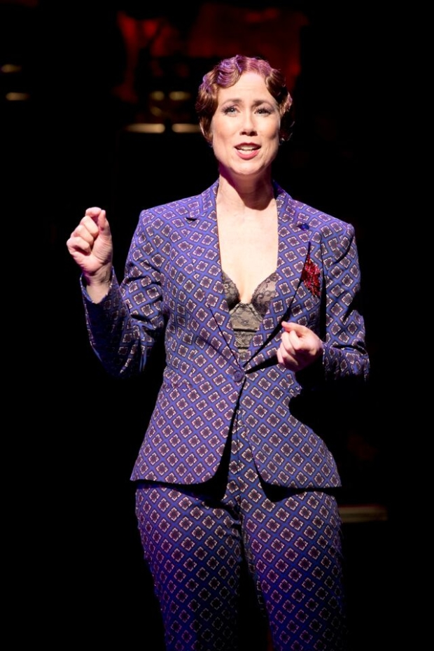 Miriam Shor returns to the stage in the role of Madelaine True.