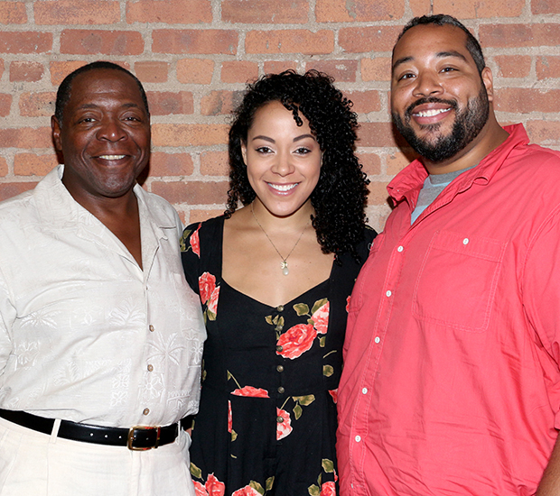 The Cooper family: Tony winner Chuck, his daughter, Lilli, and his son, Eddie.