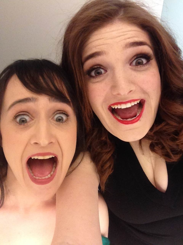 Mara Wilson and Jenny Jaffe host Send in the Clowns, a new cabaret show for standup comedians at 54 Below.