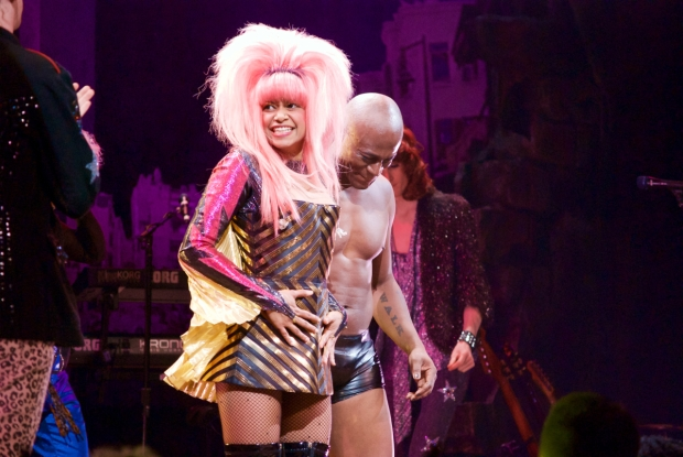 Broadway's newest Hedwig is joined by current Yitzhak, Rebecca Naomi Jones.