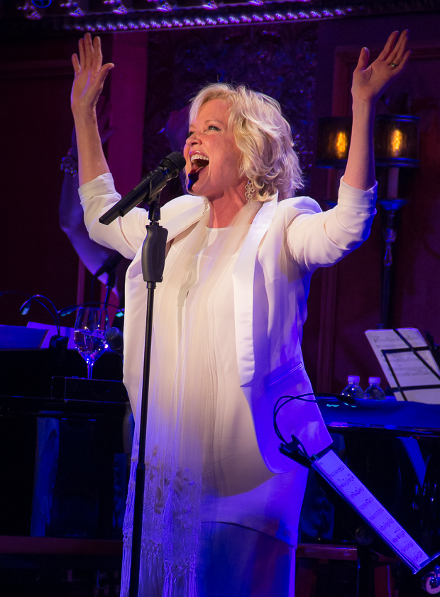 Christine Ebersole is back at 54 Below with Big Noise From Winnetka