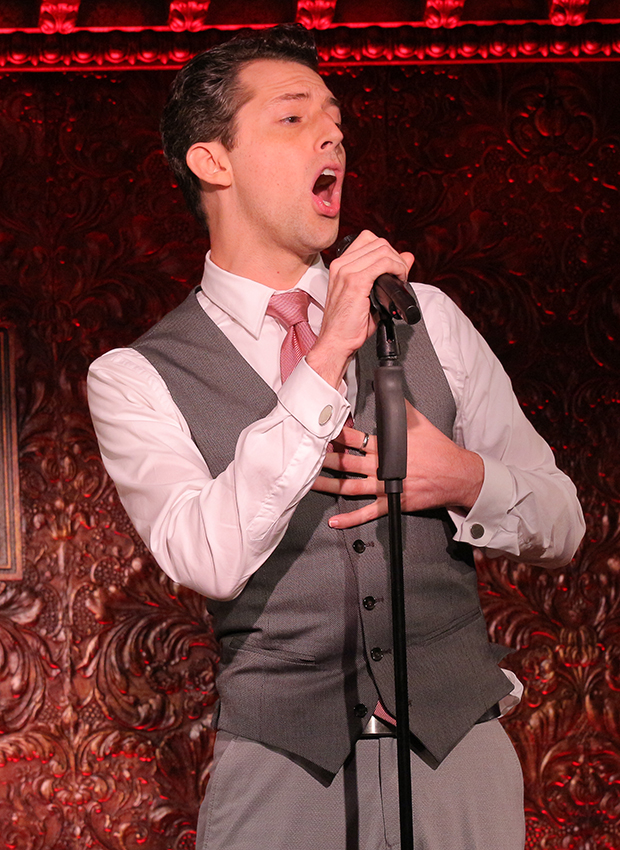 """It Shoulda Been You Drama Desk Award nominee Josh Grisetti sings """"You"""" from the musical Enter Laughing, in which he starred in 2008."""