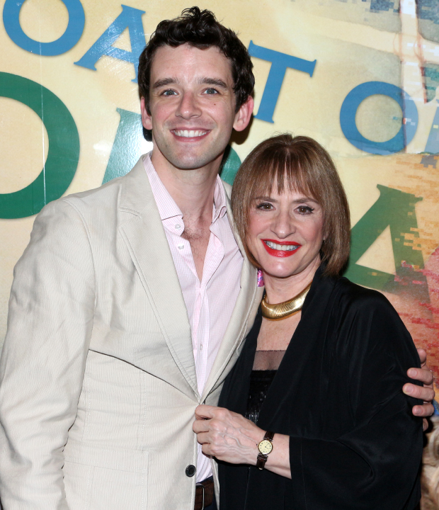 Michael Urie and Patti LuPone star in Douglas Carter Beane's Shows for Days at Lincoln Center Theater.
