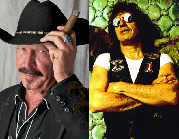Kinky Friedman and Corky Laing will perform Folked Up Rock at Bay Street Theater.