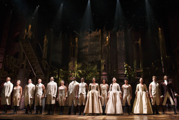 The Broadway production of Hamilton is looking at a West End engagement in the coming years.