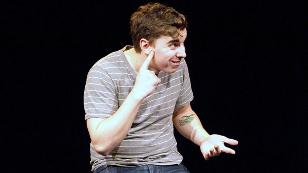 Mark Murray stars in his one-man show CODA, directed by Lindsey Leonard, at The White Box at 440 Studios.
