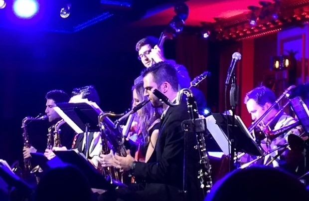 Charlie Rosen leads his Broadway Big Band at 54 Below.