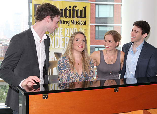 Liam Tobin, Abby Mueller, Becky Gulsvig, Ben Fankhauser take on the principal roles in the upcoming tour of Beautiful — The Carole King Musical.