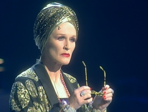 Glenn Close will reprise her performance as Norma Desmond in Sunset Boulevard.