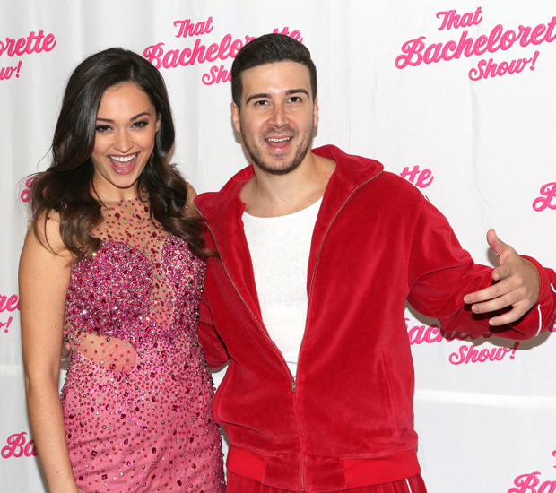 Joanne Nosuchinsky and Vinny Guadagnino are the new stars of the interactive off-Broadway production That Bachelorette Show!