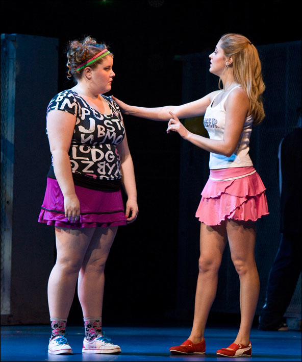 Bring it On stars Ryann Redmond and Taylor Louderman will reunite off-Broadway in Gigantic.