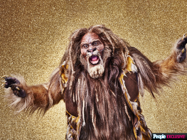 David Alan Grier as the Cowardly Lion.