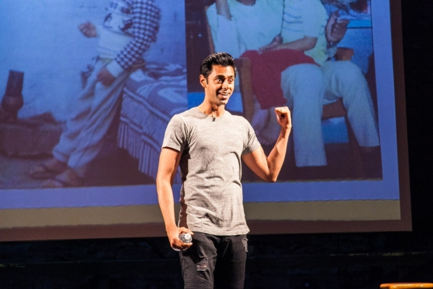 The Daily Show's Hasan Minhaj talks about being caught between cultures in his new comedy show, Homecoming King.