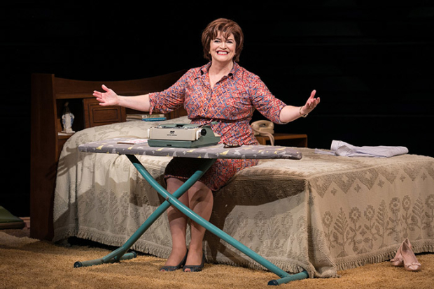Barbara Chisholm as Erma Bombeck in Erma Bombeck: At Wit's End, directed by David Esbjornson, at Arena Stage.